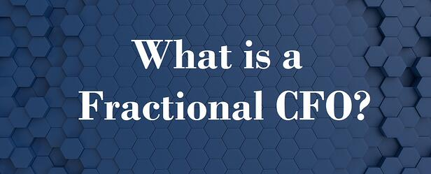 what is a fractional CFO