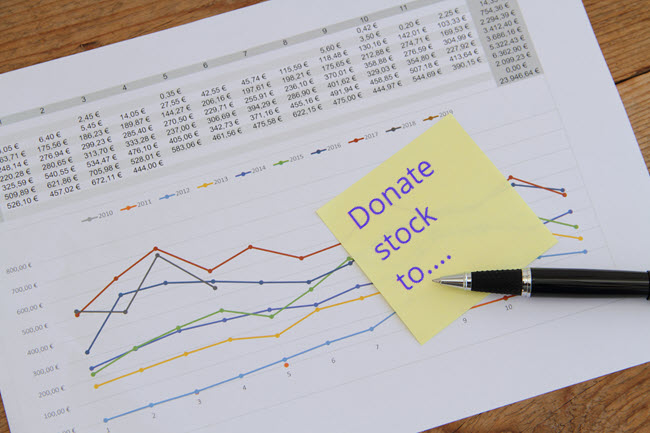 Accounting and Reporting for Stock Gift Donations to Nonprofits