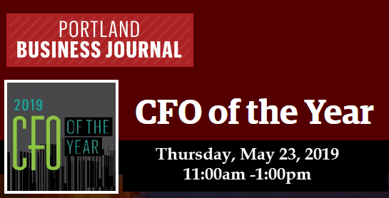 CFO Selections to Attend the CFO of the Year Event in Portland
