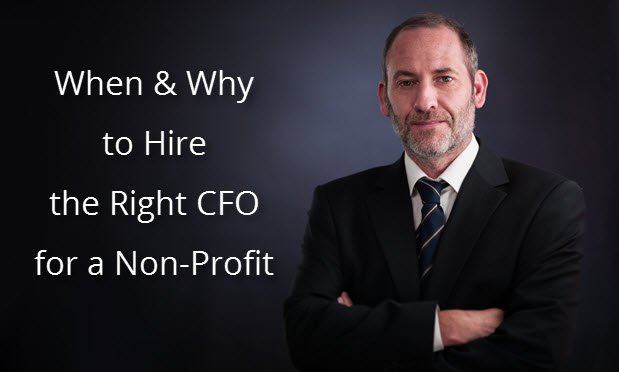 When & Why to Hire the Right CFO for a Non-Profit Organization