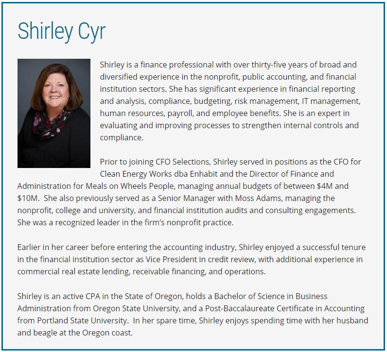 Shirley Cyr
